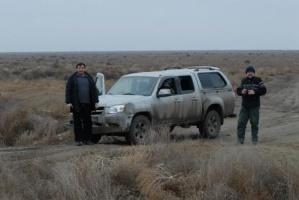 Выпуск пеликана на волю ( Дагестан 2013 год)